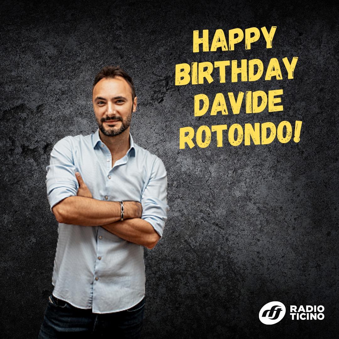 Tanti auguri al nostro Davide Rotondo!