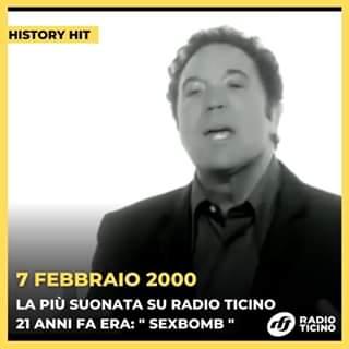 Sexbomb di Tom Jones & Mousse T. era il singolo più suonato 21 anni fa!