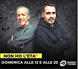 DOMANI A Radio Ticino (dalle 13:00 alle 14:00 e dalle 20:00 alle 21:00)