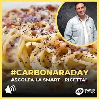 Festeggia il Carbonara - Day con Radio Ticino!