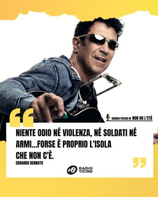 Edoardo Bennato in una versione insolita: in spagnolo!